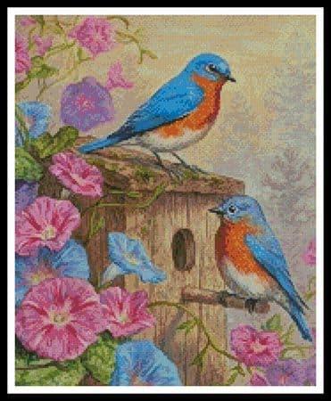 A Summer's Dream (Crop) by Artecy printed cross stitch chart